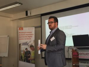 Nick Poyner, Real Apprenticeship Company presented on how technology supports their delivery
